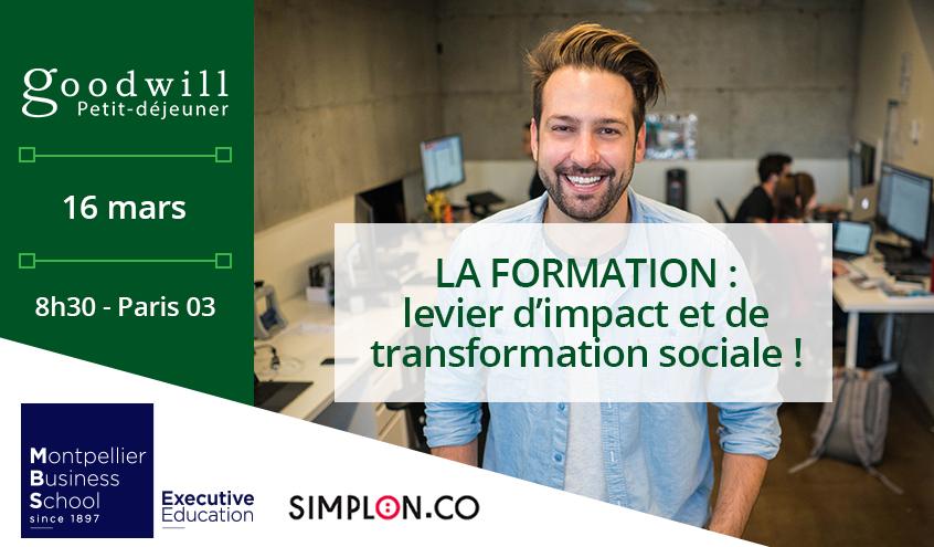 La formation : levier d'impact et de transformation sociale
