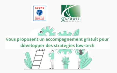 Goodwill et l'ADEME vous accompagnent pour intégrer les low-tech en entreprise
