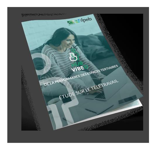 Couverture de l'étude sur le télétravail du Hub VIBEO - Goodwill Management
