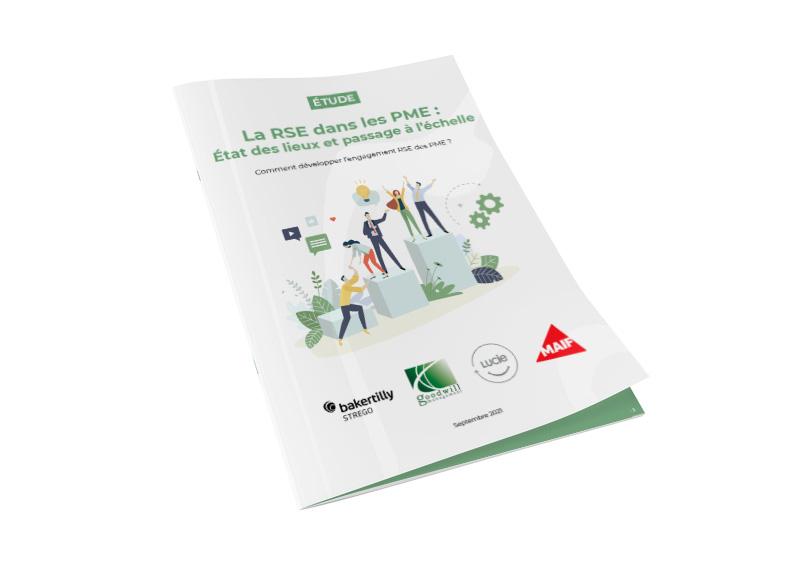 Couverture - Etude maturité RSE dans les PME - Goodwill Management