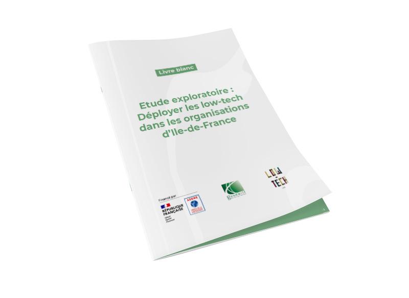 Couverture étude ADEME IDF - Low-tech en entreprise - Goodwill Management